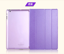 Leather-based Case Cowl for Apple Pad 2/three/four Mini/Air /Air 2 Foldable PU Protecting Cowl