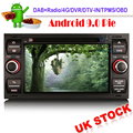 Android 9.0 DAB+ Autoradio GPS WIFI DVD OBD for FORD FOCUS Kuga Fiesta S/C-Max Fusion Sat Nav DVT-IN Bluetooth