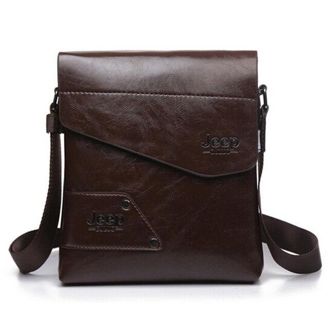 Men messenger bags top leather bag briefcase designer high quality shoulder bag 3