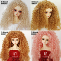1/3 1/4 scale BJD wig curls hair for BJD/SD DIY doll accessories.Not included doll,clothes,shoes,and other 16C1018