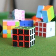 Intellectual development children toy Rotate 3X3 Cube  speed boy Children grow birthday gift present Bracket magic square cube