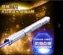 Cheaper JSHFEI 450nm  Blue Laser Pointers Flashlight burn match candle lit cigarette wicked wholesale LAZER