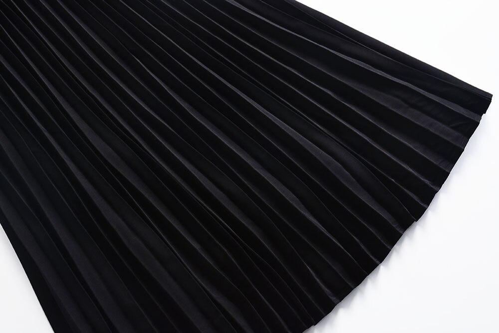 col Une O Robes Robe L'été Drapée Shown As Manches Sans Piste Festa 2018 De Broderie Femmes Noir Ligne 4254 4qPx0