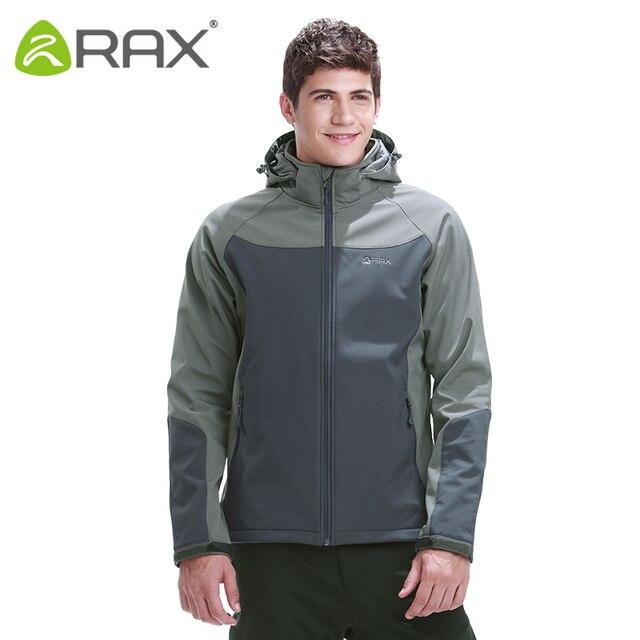Rax Outdoor Waterproof Softshell Men Outdoor Warm Windproof ...