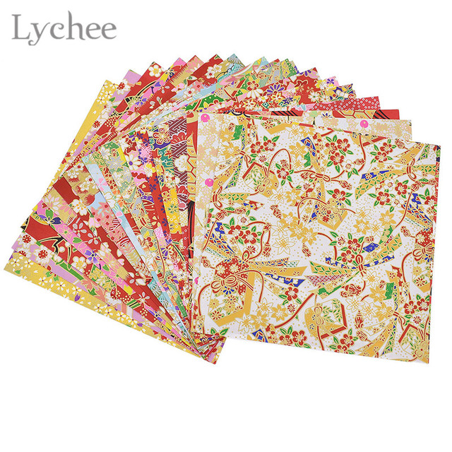 Lychee 20 sheets japanese flower floral origami diy handmade lychee 20 sheets japanese flower floral origami diy handmade materials scrapbook folding paper craft random mightylinksfo