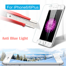 9HD Transparent Tempered glass Film Front Screen Protector For iPhone 5 6 6s 7 /6 6s 7 Plus SE 5S
