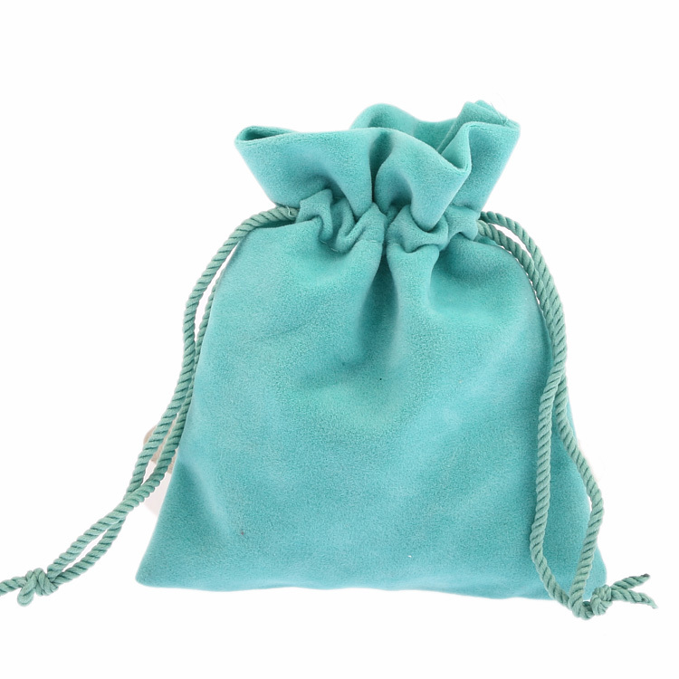 10x12cm 50pcs/lot Green Velvet Drawstring Shrink Pouches Jewelry Christmas Gift Bracelets Beads Charms Bag Packing