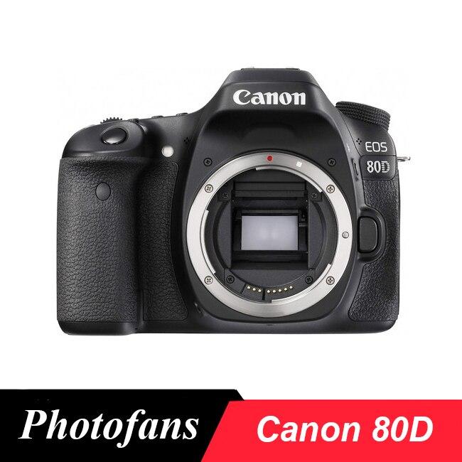 Canon 80D DSLR Камера 24.2MP с переменным углом сенсорный экран Видео Wi Fi