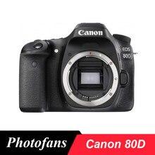 Canon – caméra DSLR 80D Wi-Fi, écran tactile d'angle Vari de 24,2 mp, vidéo