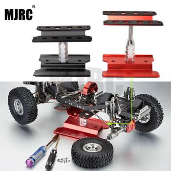 Metal Repair Station Work Stand Assembly Platform for 1/10 1/8 RC Car Traxxas TRX-4 Axial SCX10 90046 D90 RC Crawler Tamiya HSP