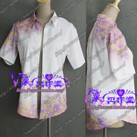 Custom Made Hotarubi No Mori E Gin Cosplay Costume COS Print Shirt Any Size