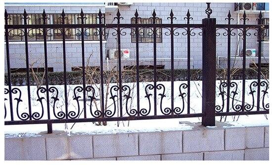 Grilles en fer forgé porte du jardin jardin clôture porte de porte à ...