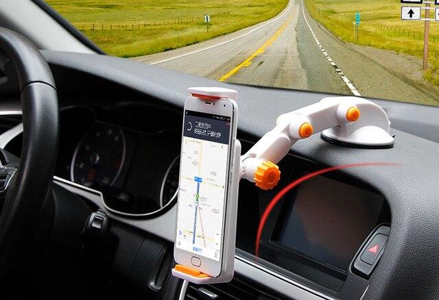 Регулируемый Складной Поворотный Всасывания GPS Мобильного Телефона Автомобильный Держатель Стенд Крепление Для Sony Xperia Z3 Compact Z3 MINI, Xperia E3 D2203
