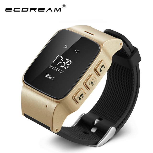 New smart watch elder s watch D99 GPS positioning phone call SIM card  support care for mom and dad easy to use smartwatch 68bb44b58