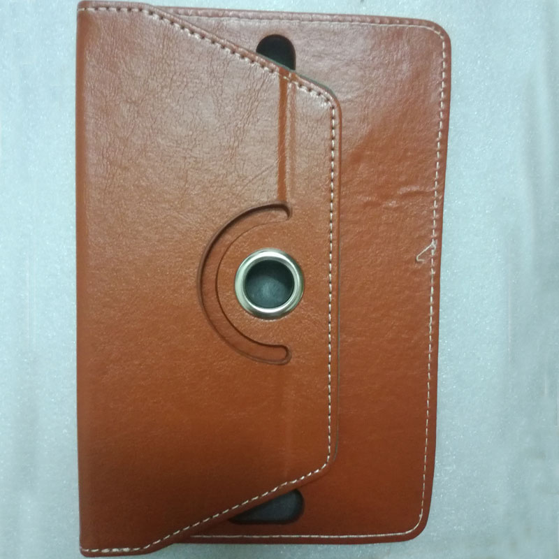 Myslc 360 Degree Rotating Cover for BQ-7062G Fiji 7 Inch Tablet PU Leather Protective Case