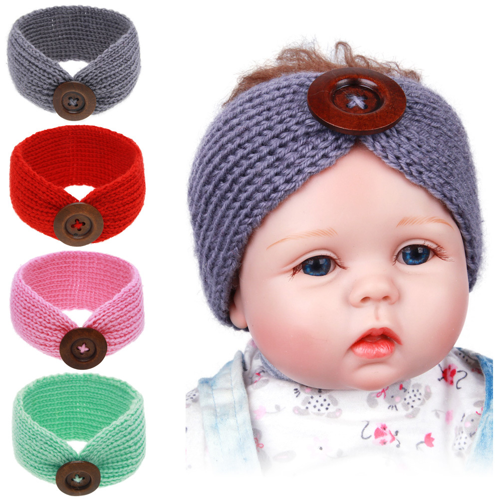 Aliexpress Buy Newborn Baby Crocheted Headband Baby Headband
