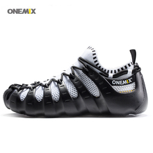 ONEMIX 2017 Men s Women s font b sports b font running shoes Protecting the ecological