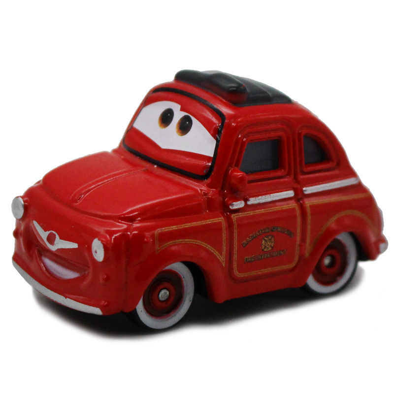 Cars The Movie: 1 PCS Pixar Cars Movie Red Luigi Metal Diecast Toy Car 1