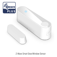 Z WAVE Smart Home Security Alarm Window & Door Wireless Smart Sensor Magnetic Intelligent Door Sensor Detector for Smart Home