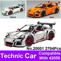 2017 New LEPIN 20001 2704Pcs Technic Series 911 Model Building Kits Blocks Bricks Compatible With 42056