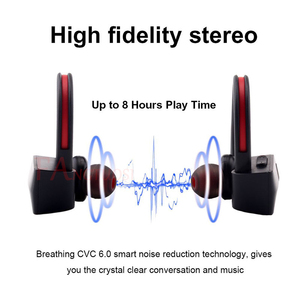 Image 5 - FANGTUOSI K98 بلوتوث اللاسلكية سماعة الرياضة تشغيل ستيريو سماعة رأس مزودة بميكروفون الأذن هوك سماعات آيفون XR سامسونج هواوي
