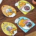 AM47 60pcs/pack Kawaii Gudetama Lazy Egg DIY Clear Stickers Bag Decorative Scrapbooking Diary Album Stick Label Decor Craft