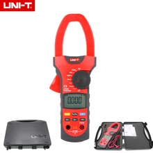 On sale UNI-T UT209 Digital Clamp Meters 4000 Counts LCD Multifuction Ohm DMM DC AC Voltmeter AC Ammeter Data Hold 40A/1000A