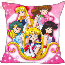 Pillow-Case Wedding-Decorative Customize Gift Nice for Sailor--Moon New