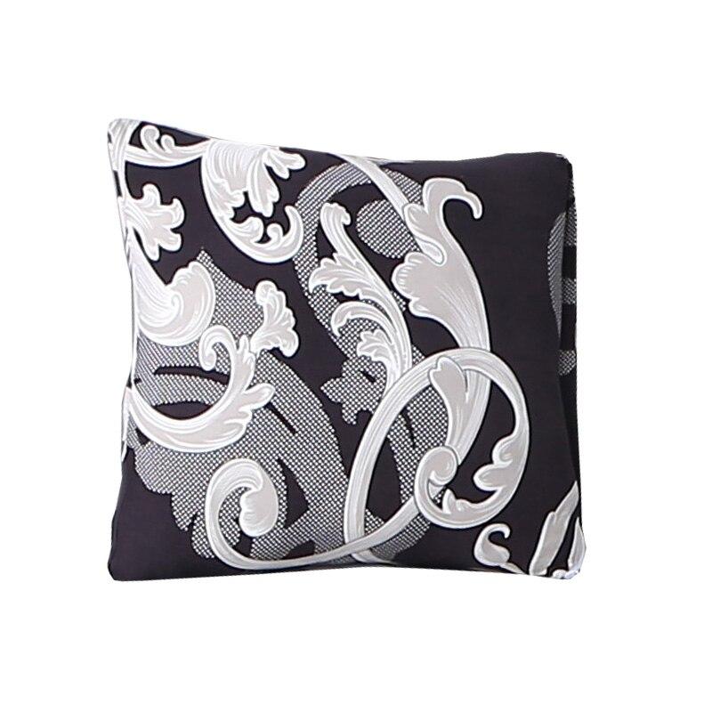 Floral Printing Stretch Elastic Cushion Cojines Decorativos Para Sofa Capa De Almofada Coussin De Salon Housse De Cous 45*45cm