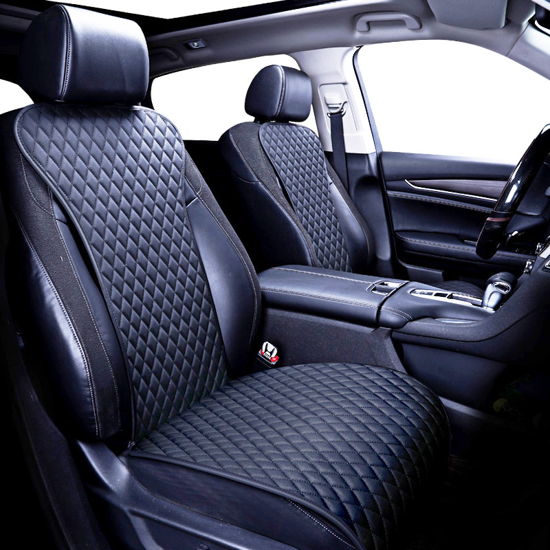 2018 brand new not moves single car seat cushions, universal pu leather non slide seats cover fits for most cars water proof