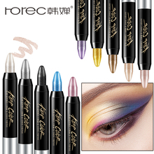 ROREC Eyeshadow Pencil Big Smokey Eyes Shimmer Eye Shadow Stick Jumbo Liner Glitter Makeup Penci