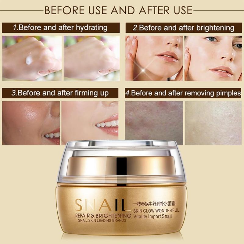 Crema facial hidratante para el aceite de caballo Eliminar Crema anti - Cuidado de la piel - foto 3