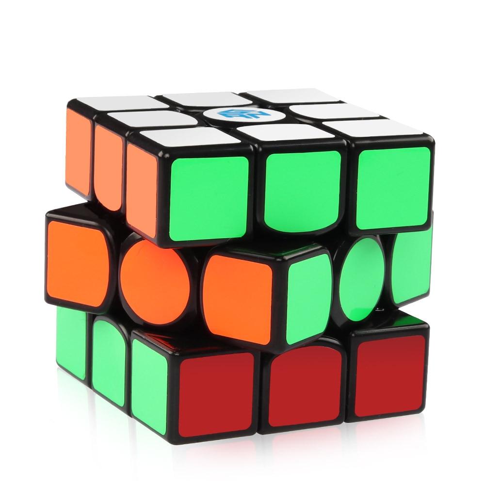 D-FantiX Gans 356 Air Maître 3x3x3 Vitesse Cube Lisse Professionnel Cube Magique jouets éducatifs Pour enfants Adultes - 3