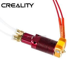 Image 1 - 組み立て押出機ホットエンド用creality 3DプリンタCR Xデュアルカラー印刷ノズルプリンタアルミ加熱ブロック