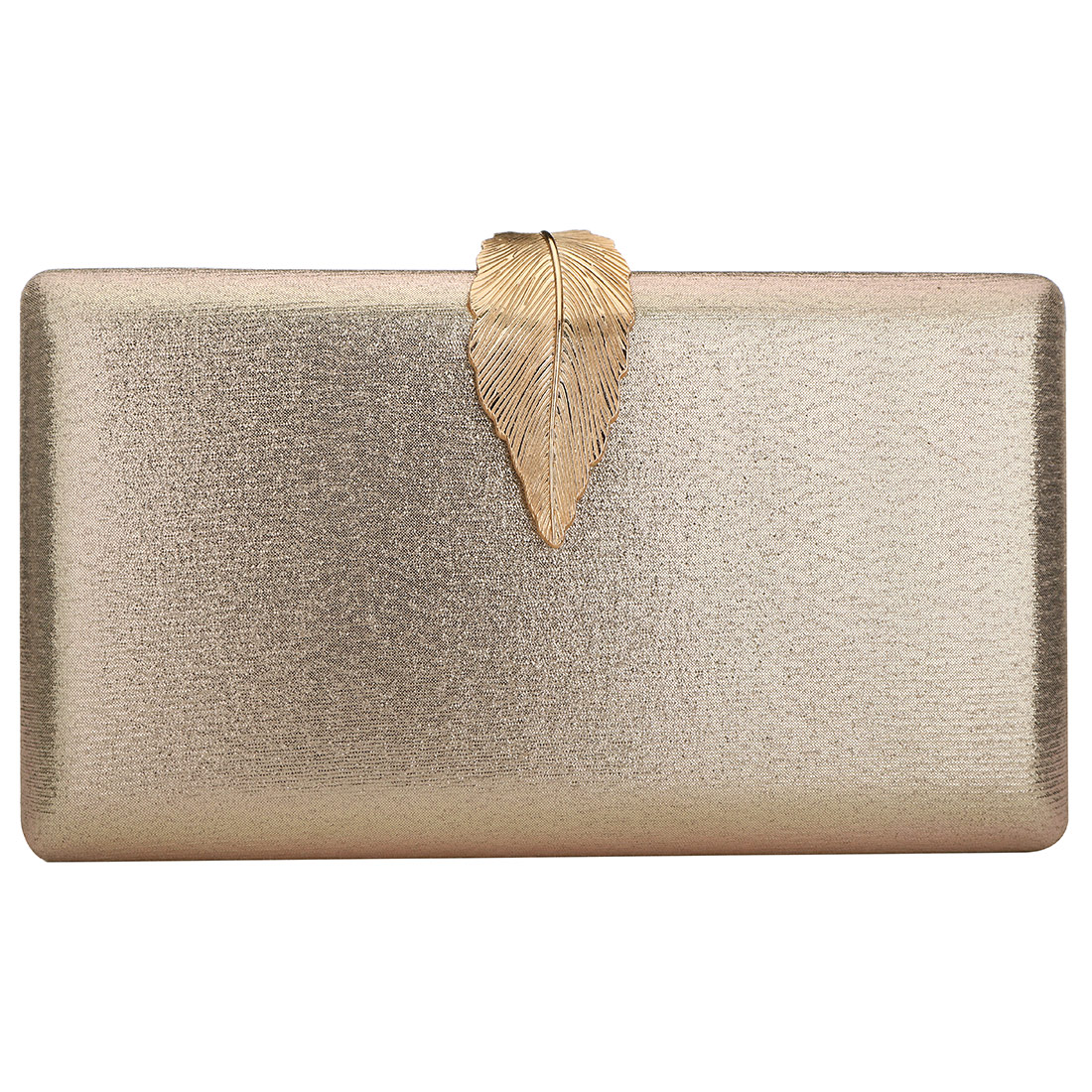 2019 Elegant Evening Clutch Purse Famous Box Bag With Chain Solid Color Shoulder Crossbody Bags For Women Gold Sliver Clutches(China)
