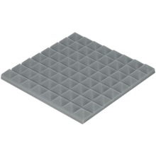 [ Fly Eagle ] Gray Soundproofing Acoustic Sound Treatment Studio Room Absorption Wedge 12Pcs 50cm X 5cm