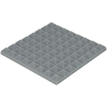 [ Fly Eagle ] Gray Soundproofing Acoustic Sound Treatment Studio Room Absorption Wedge 12Pcs 50cm X 50cm X 5cm