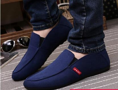 fcce6917 Primavera y verano zapatos casuales blancos moda para hombre mocasines para  hombre zapatos moda para hombre pedal en Pisos de las mujeres de Zapatos en  ...