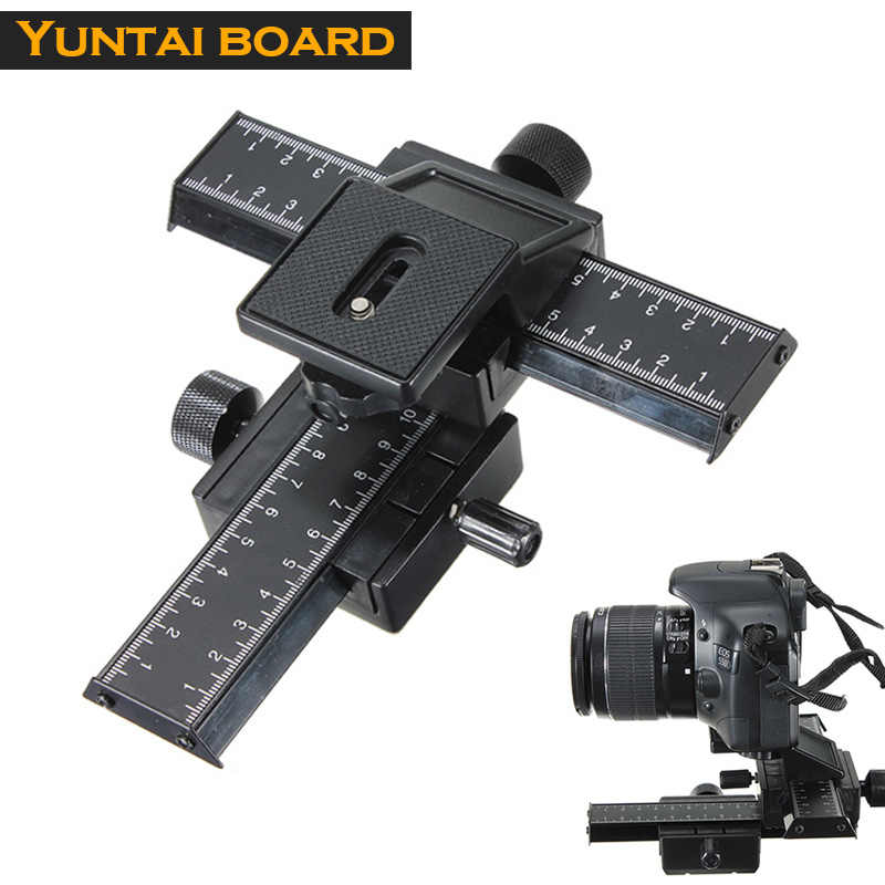 High Quality 4 Way Macro Focusing Rail Slider Set for Nikon Canon SLR Camera Photography