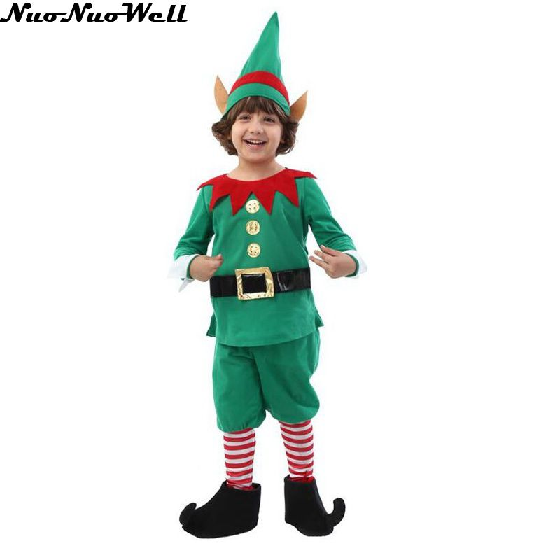 The Boys Sitting Elf Costume is a great look for your youngster. He can play pretend being Santa's helper while you enjoy how adorable he looks. With Santa, Mrs. Claus, and reindeer costumes for the whole family, you can come up with a great group look. Spread holiday cheer wherever you go by giving your little one the Boys Sitting Elf Costume.