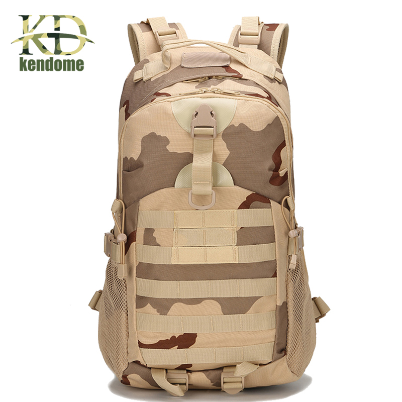 2018 Hot Outdoor Sports Camping Backpack Military 3P Assault MOLLE Bug Out Small Rucksack Hunting Army Combat Travel Climbing