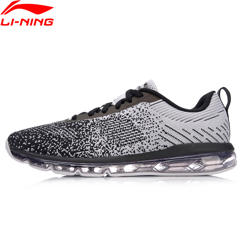 Li Ning Men Bubble Max Classic Walking Shoes Cushion Sneakers LiNing Breathable Comfort Fitness Sports Shoes AGCN075 SJFM18-in Walking Shoes from Sports & Entertainment    1
