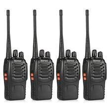 4 шт baofeng bf 888s walkie talkie коммуникационное оборудование