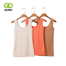 GOPLUS Fashion Colourful Cotton Basic Tank Top Women Summer Sexy Sleeveless Vest Lady Casual Camisole Streetwear Slim Top Female(China)