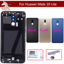 Original For Huawei G10 / Plus Mate 10 Lite RNE-L01/L21/L23 Battery Cover Back Housing Rear Door Case Panel