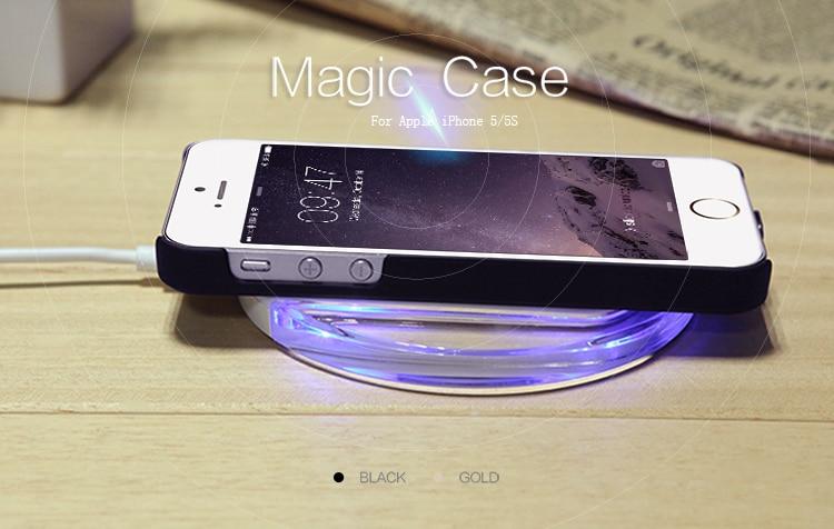 nillkin magic qi standard wireless charging receiver back. Black Bedroom Furniture Sets. Home Design Ideas