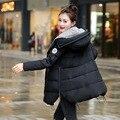 Clothing moda prendas de abrigo con una capucha de manga larga de maternidad de maternidad de invierno para las mujeres embarazadas de down abrigos abrigos chaquetas