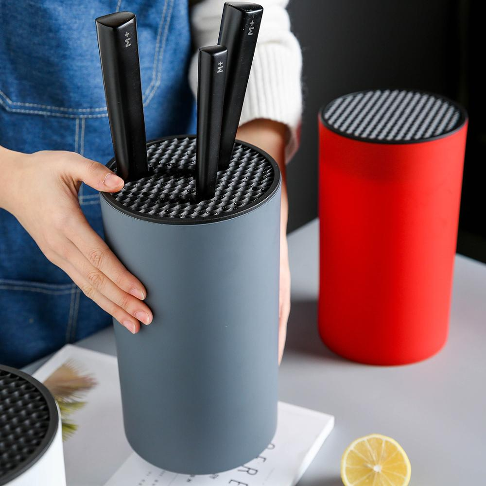 MDZF SWEETHOME Knife Holder Organized Knife Storage Universal Round Kitchen Knife Block Stand