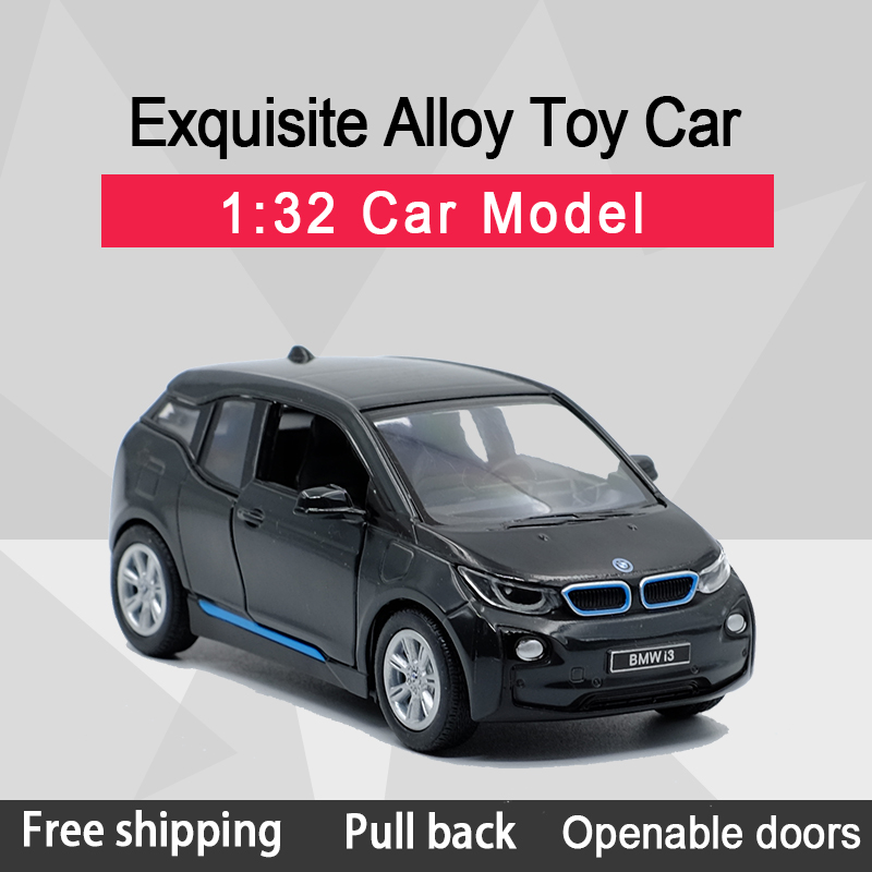 Kinsmart 1:32 I3 Cross Country Vehicle Alloy Diecast Car Model Toy With Pull Back For Kids Gifts Toy Collection