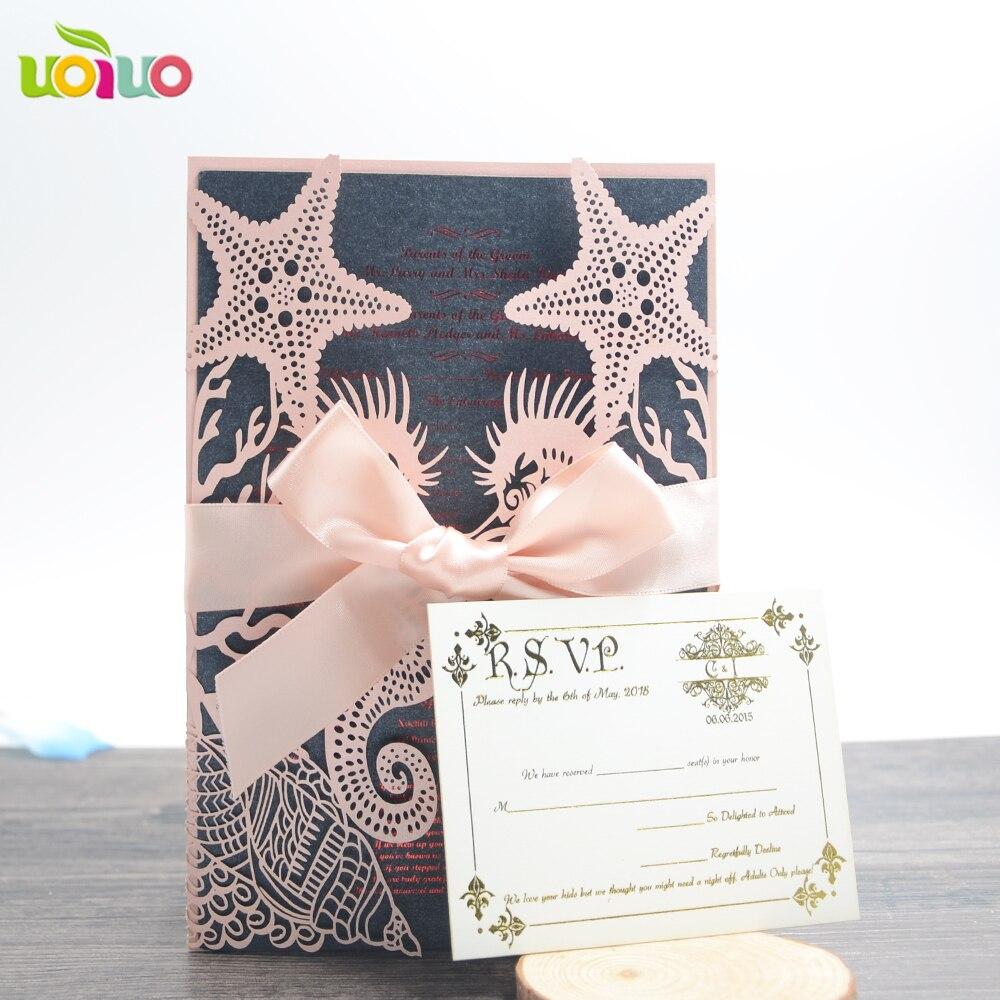 Laser Cut Customized Beach Starfish Seashell Sea Horse